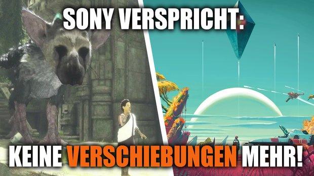 Sony: Das Unternehmen will keine voreiligen Terminankündigungen mehr