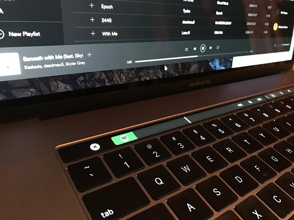 Spotify für Mac unterstützt Touch Bar und Auto-Stopp der AirPods