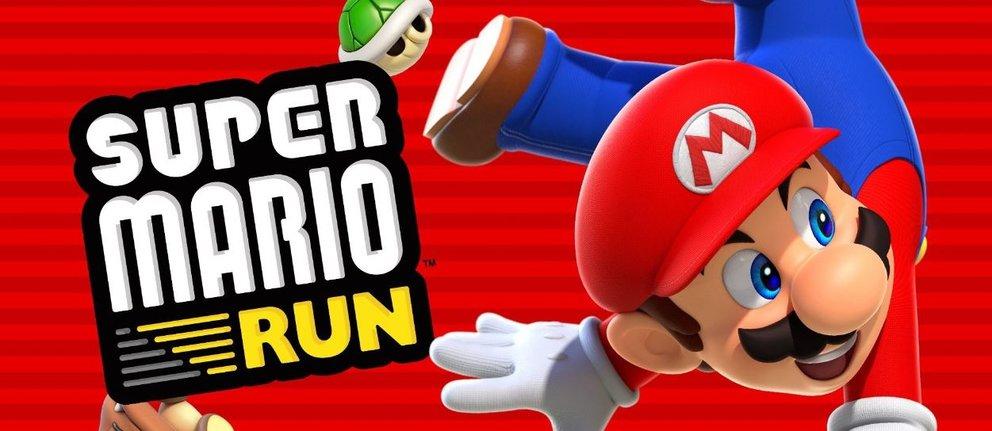 Super Mario Run Banner