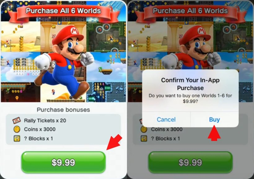 Super Mario Run Vollversion kaufen freischalten