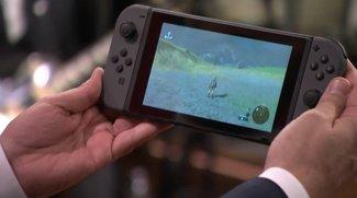 In diesem Video siehst Du Nintendo Switch erstmals live in Aktion
