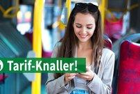 Tarif-Knaller: Allnet-/SMS-/LTE-Flat ab 6,49 Euro pro Monat – monatlich kündbar, Datenautomatik abwählbar