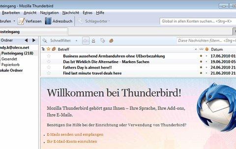 Top-Download der Woche 48/2016: Mozilla Thunderbird