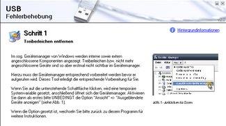 USB-Fehlerbehebung