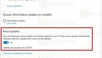 Windows 10 Creators Update: Nutzer können Updates pausieren