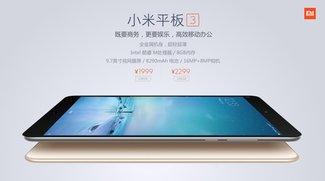 Zum Knallerpreis: Xiaomi Mi Pad 3 mit 9,7-Zoll-Display, Windows 10 und 8 GB RAM