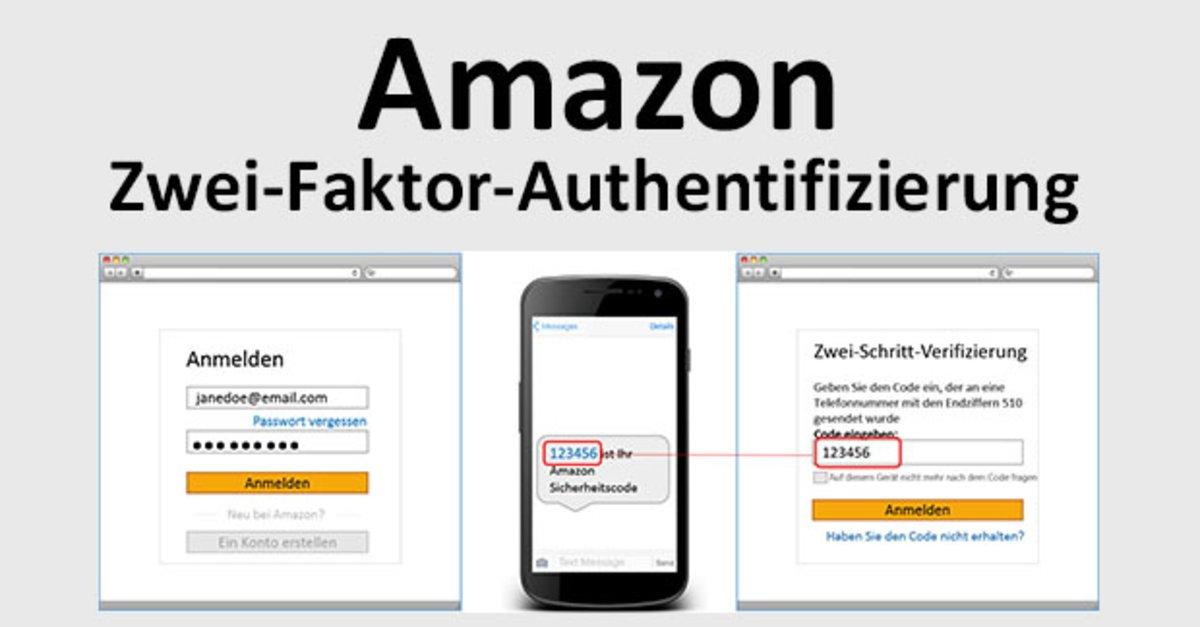 amazon zwei faktor authentifizierung funktioniert nicht