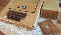 Schönes Weihnachtsprojekt: Vater und Sohn bauen Lebkuchen-Apple II