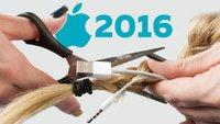 Apple 2016: Das Jahr der abgeschnittenen Zöpfe