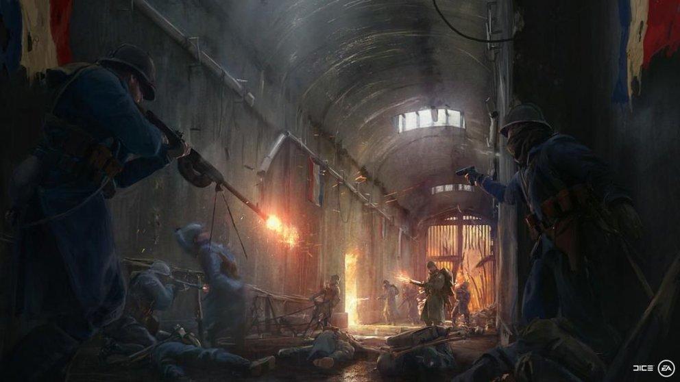 Die französischen Streitkräfte sind bald für Battlefield 1 verfügbar.