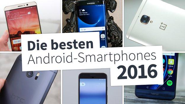 Abstimmung: Wählt euer Android-Smartphone des Jahres 2016