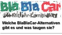 Welche BlaBlaCar-Alternative gibt es?