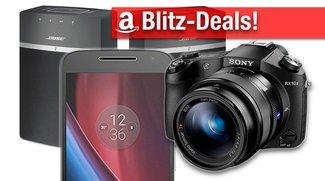 Blitzangebote: Bose Multiroom-Lautsprecher, Sony System- u. SLR-Kameras, AirPlay-Receiver, Moto G4 Plus u.v.m. günstiger