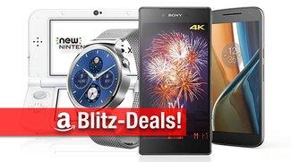Blitzangebote: Moto G4, Sony Xperia Z & Z5,  Huawei Watch mit Metallband, New Nintendo 3DS XL u.v.m.günstiger