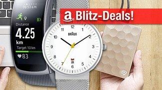 Blitzangebote: Samsung Gear Fit 2, Braun-Uhren, Festplatten, Monitore u.v.m. heute kurze Zeit günstiger