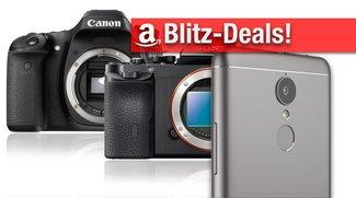 Blitzangebote: Sony Alpha 6000, Alpha 7R, Canon EOS 80D, Objektive, Lenovo K6 Smartphone, microSD-Karten etc. günstiger