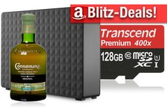 Blitzangebote: Whiskey, 5 TB...