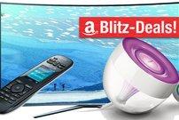 Letzter Tag der Last-Minute-Angebote-Woche bei Amazon:<b> Fernseher, Philips Beleuchtung, Powerbanks u.v.m. stark reduziert</b></b>