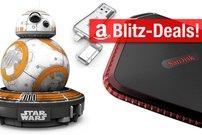 Blitzangebote:<b> Externe SSD, DVD-Brenner, Zusatzakku, Bluetooth-Lautsprecher heute stark reduziert</b></b>