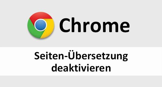 chrome webseite übersetzen