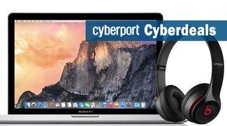 Cyberport Cyberdeals: Apple MacBook Pro (2015), Beats by Dr. Dre Solo2 Wireless Kopfhörer und mehr stark reduziert