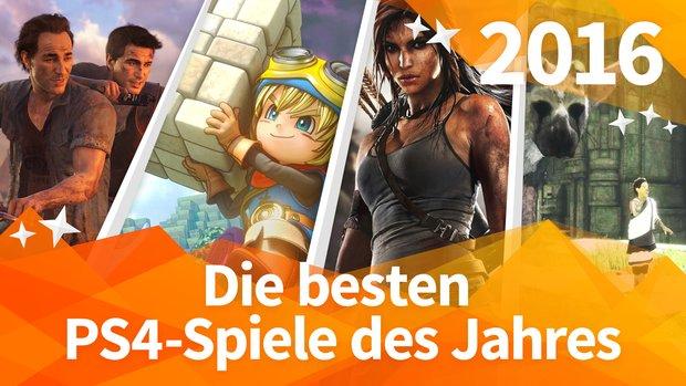 Die 10 besten PS4-Spiele 2016 im Jahresrückblick