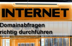 Domainabfrage – Wem...
