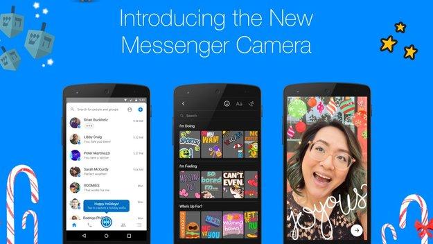 Facebook Messenger: Snapchat-Funktionen für Kamera eingeführt