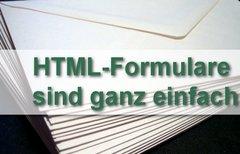 HTML Formular: Ein...