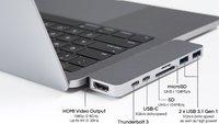 HyperDrive: Das beeindruckend kleine Thunderbolt-3-Dock für MacBook Pro mit 7 Anschlüssen