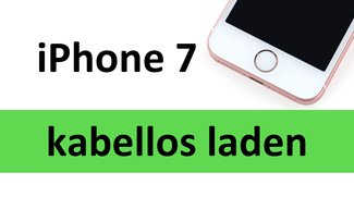 iPhone 7: Kabellos laden – so geht's