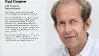 Wechsel im Apple-Watch-Management: Paul Deneve mit neuem Chef, Matsuoka geht