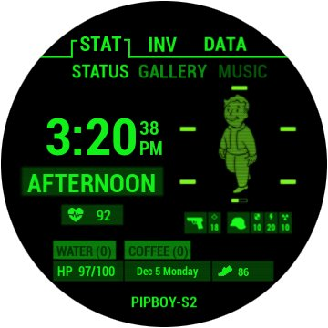 pipboy-watchface-gear-s3