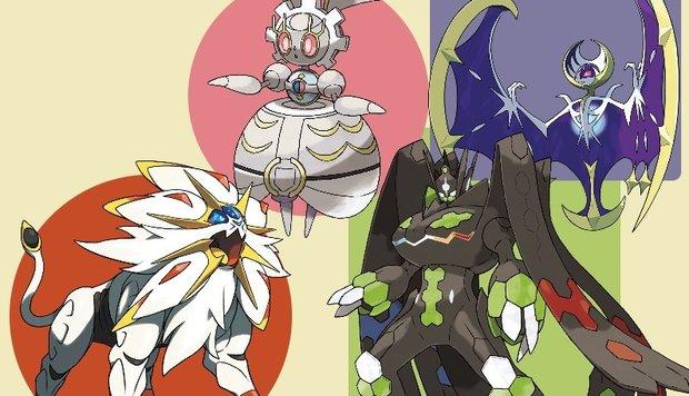 Pokémon Sonne und Mond: Legendäre Pokémon und ihre Fundorte (Update: QR-Code für Magearna)
