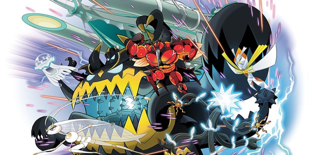 Pokémon Sonne Und Mond Ultrabestien Finden Und Besiegen Giga