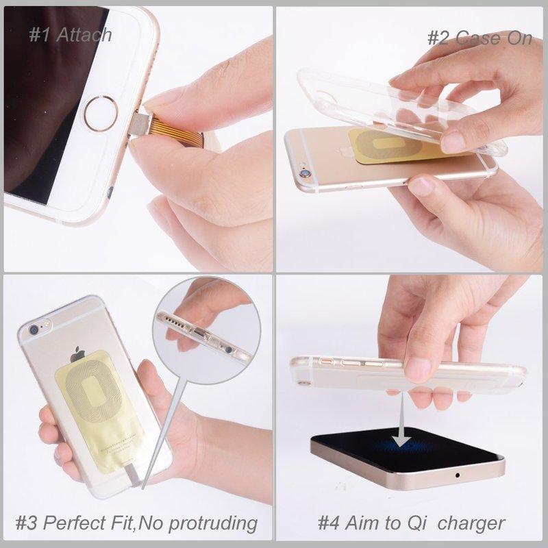 So montiert ihr den Qi-Adapter für das iPhone 7.