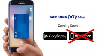 Apple lehnt Samsung Pay Mini als iOS-App ab