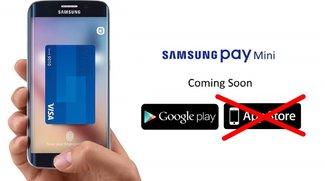 Apple lehnt Samsung Pay Mini als iOS-App ab