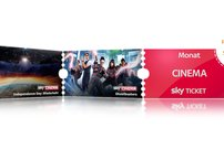 Sky Tickets ab 1 € pro Monat: Entertainment, Cinema & Supersport – monatlich kündbar
