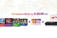Knaller! 12 Monate alle Sky-Pakete in HD inkl. gratis Sky Pro+ UHD-Receiver für 29,99 € pro Monat (statt 76,99 €)