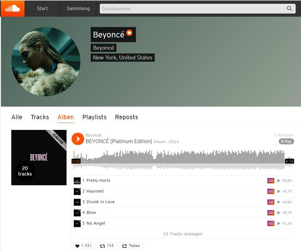 Soundcloud Go bietet 135 Millionen Tracks bekannter, aber auch aufstrebender Künstler und Bands