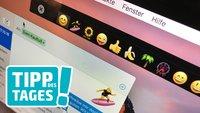 Touch Bar auf dem Mac ohne Touch Bar anzeigen, so geht's