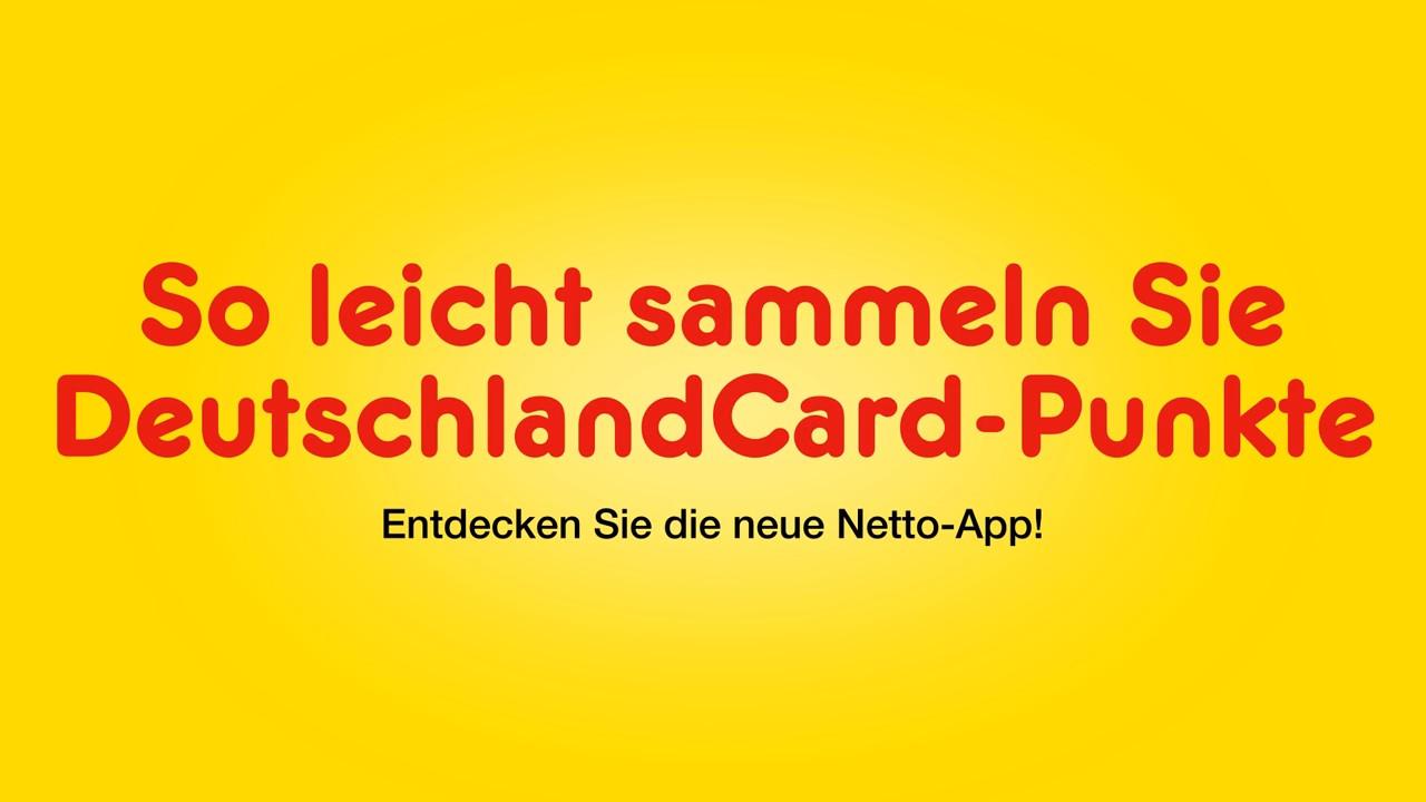 Deutschlandcard 2 Karte Anmelden.Die Netto App Deutschlandcard Punkte Sammeln Mp4