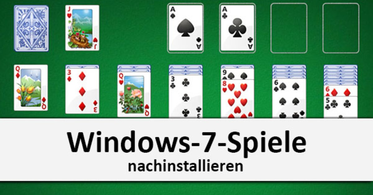 Windows-7-Spiele nachinstallieren in Windows 7, 8, 10 – so geht\'s – GIGA