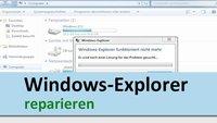 Windows-Explorer reparieren: so geht's