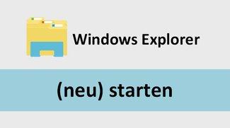 Windows-Explorer öffnen & Prozess neu starten – so geht's