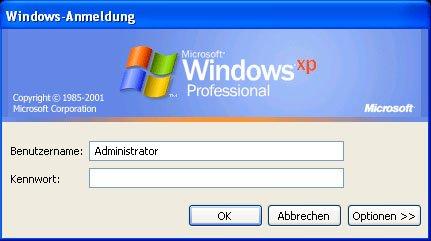Windows XP: Passwort vergessen - so gehts wieder