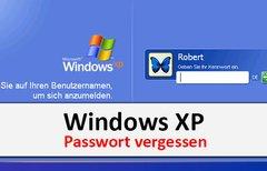 Windows XP: Passwort vergessen...