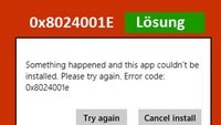 0x8024001e – Lösung für den Windows-Fehler