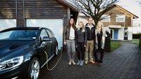 Diese Familie testet ein selbstfahrendes Auto für Volvo